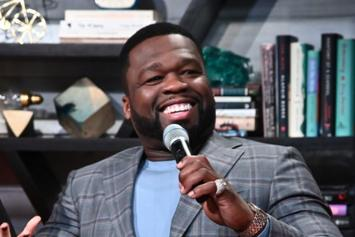 """50 Cent Clowns Jay-Z & Diddy's Swimming Skills: """"Rappers Can't Dive"""""""