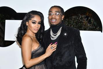 "Saweetie Responds To Quavo's Cheating Rumors: ""Fake News"""
