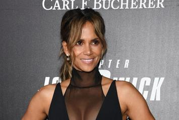 "Halle Berry Laughs At LisaRaye McCoy's Comments: ""Ask My Man"""