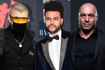 "Bad Bunny, The Weeknd & Joe Rogan Dominate Spotify 2020 ""Wrapped"" Lists"