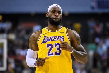 LeBron James Signs Massive New Contract With Lakers