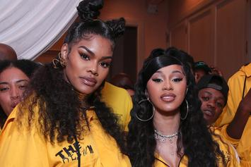 Cardi B Reacts To Teyana Taylor's Retirement Announcement