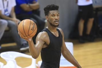 Jimmy Butler Reacts To Ridiculously Short Offseason