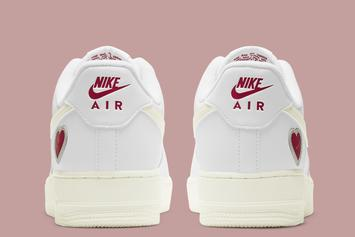 "Nike Air Force 1 Low ""Valentine's Day"" Unveiled: Photos"