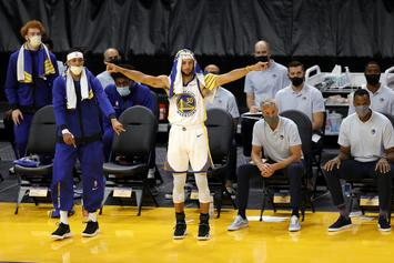 """Steve Kerr On Stephen Curry's Return To Warriors' Lineup: """"Sight For Sore Eyes"""""""