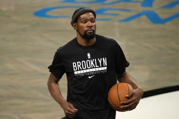 Kevin Durant Scores First Points With The Nets, Fans React