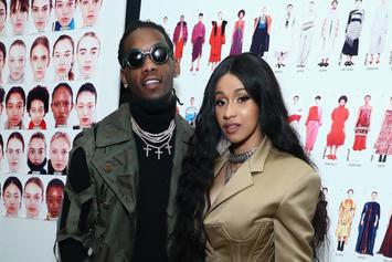 Offset Was So Excited About Cardi B's Birthday Gift That He Started Humping It