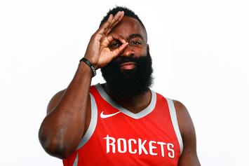 "James Harden Explains Vacations In ATL & Vegas: ""I Was In Training"""