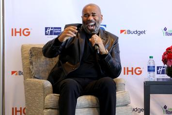 """Steve Harvey Shows Off His """"Winter In Dubai"""" With New IG Pic"""
