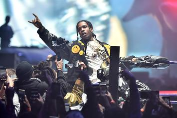 "A$AP Rocky Accidentally Shares ""Grim Freestyle"""