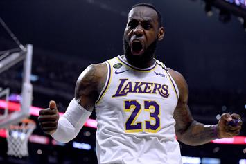 LeBron James To Release Surprise Christmas Sneaker