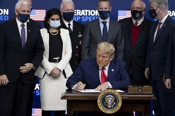 Donald Trump Signs COVID-19 Relief Package With $600 Stimulus Checks