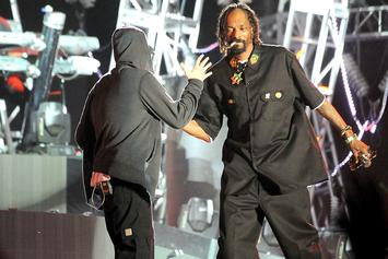 Snoop Dogg Appears To Sub Eminem In Song Preview