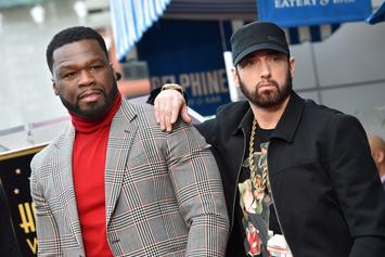 """50 Cent Shows Loyalty To Eminem: """"He Put Me On"""""""