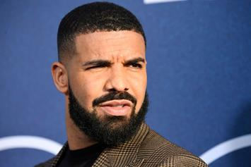 Drake Shows Off His Biceps, But That's Not What People Are Looking At