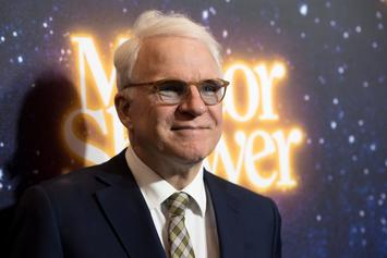 Steve Martin Receives COVID-19 Vaccine & Jokes About Its Side Effects