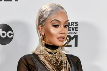 "Saweetie Shouts Out Fan Who Got Tattoo Of Her Face: ""Real Icy Boy"""
