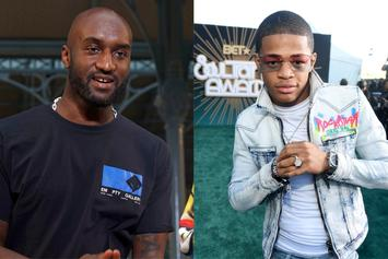 Virgil Abloh Gifts YK Osiris With Louis Vuitton Jacket After Fake Gucci Incident