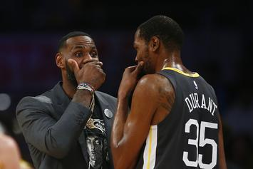 LeBron James & Kevin Durant React To Shaq's Donovan Mitchell Diss