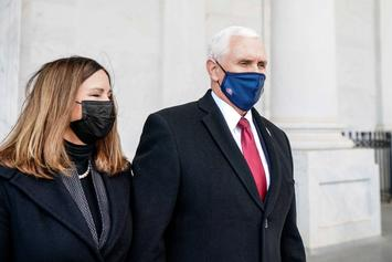 Mike Pence & Wife Karen Are Reportedly Homeless