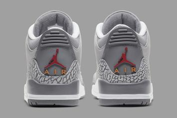 "Air Jordan 3 ""Cool Grey"" Gets New Release Date: Official Photos"