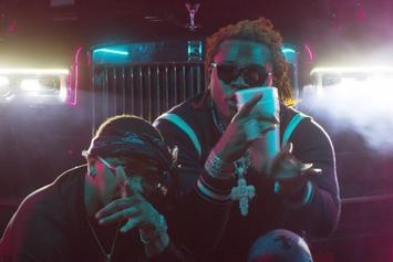 "Nechie & Gunna Have A YSL Party In ""Stackin It"" Video"