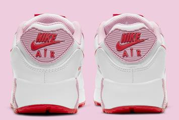 """Nike Air Max 90 """"Valentine's Day"""" Coming Soon: Photos"""