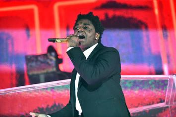 Kodak Black Rushes To Safety After Red Beam Spotted On His Shirt: Watch