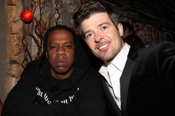 Jay-Z Assisted Robin Thicke With Finalizing Tracklist For New Album