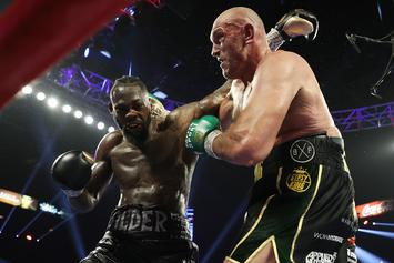 Tyson Fury Mocks Deontay Wilder On 1-Year Anniversary Of Title Fight