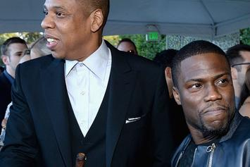 Kevin Hart Gives Jay-Z His Flowers