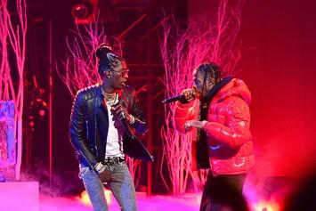 "Travis Scott Gets Young Thug & Roddy Ricch New ""Utopia"" Chains"