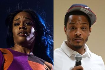 """Azealia Banks Calls Out Public For """"Never [Checking]"""" T.I. Over Alleged Violent Threats"""