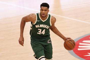 Giannis Antetokounmpo Becomes Latest Superstar To Suffer Injury