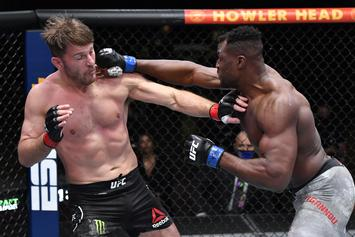 Francis Ngannou Knocks Out Stipe Miocic To Win Heavyweight Title
