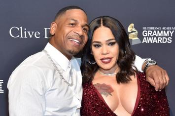 "Faith Evans ""Backed Off"" From Stevie J After Learning He Was Still With His Ex"