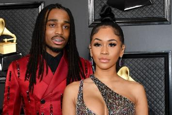 """Quavo Breaks His Silence On Fight: """"I Haven't Physically Abused Saweetie"""""""