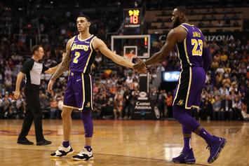 """Lonzo Ball Delivers Praise To LeBron James Over """"Space Jam"""" Trailer"""