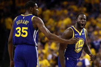 Draymond Green Explains What He Told Kevin Durant In Now Viral Meme