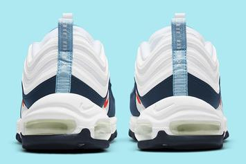 "Nike Air Max 97 Receives Unofficial ""USA"" Colorway: Photos"