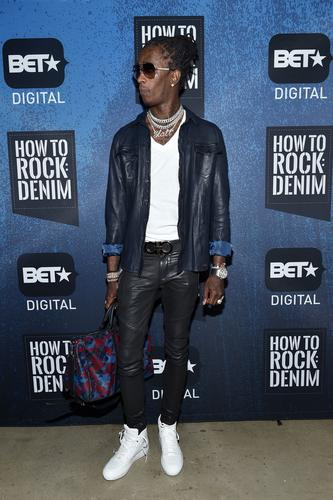 Young Thug at BET How to Rock Denim