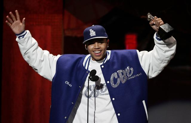 Chris Brown at the 20th Annual Soul Train Music Awards