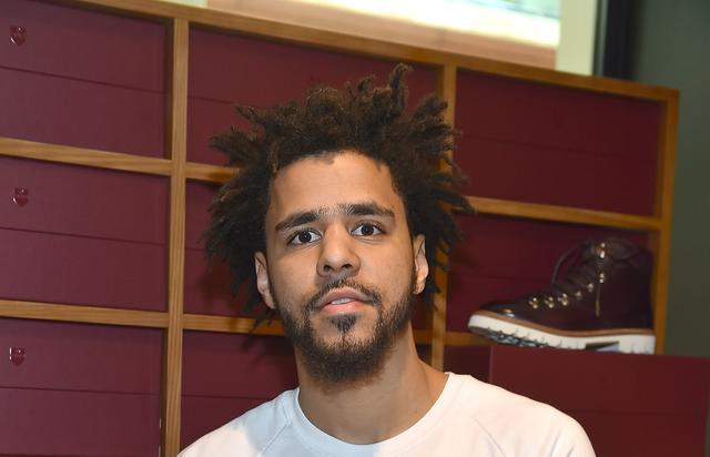 J. Cole at event