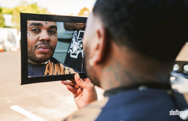 kevin gates getting a fresh cut