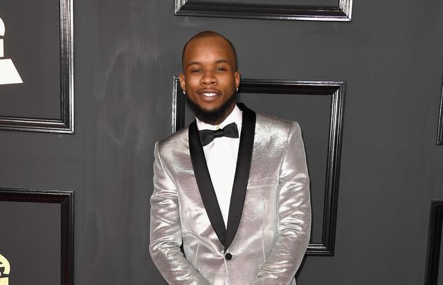Tory Lanez attends the Grammys
