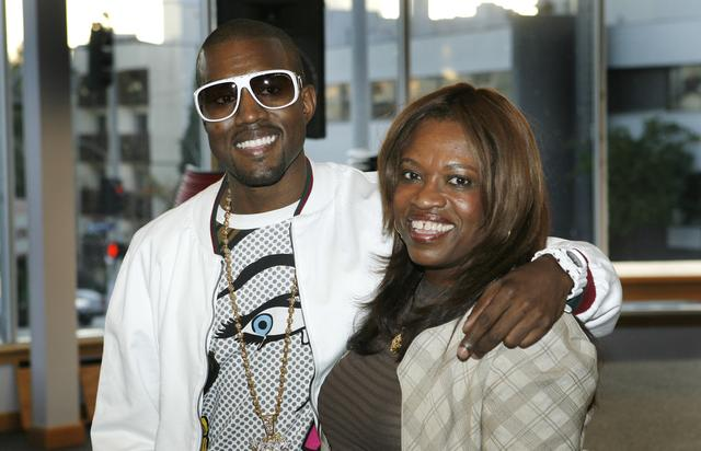 CA: Kanye West and Donda West Sign Copies Of Her New Book 'Raising Kayne'