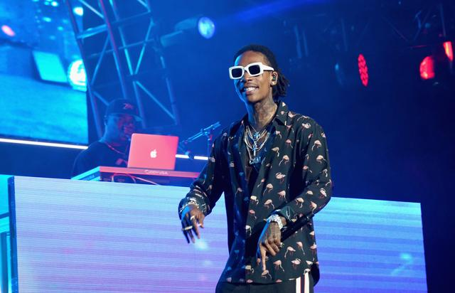 Wiz Khalifa at 2017 BET Experience