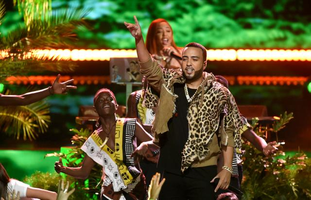 French Montana performing at Teen Choice Awards