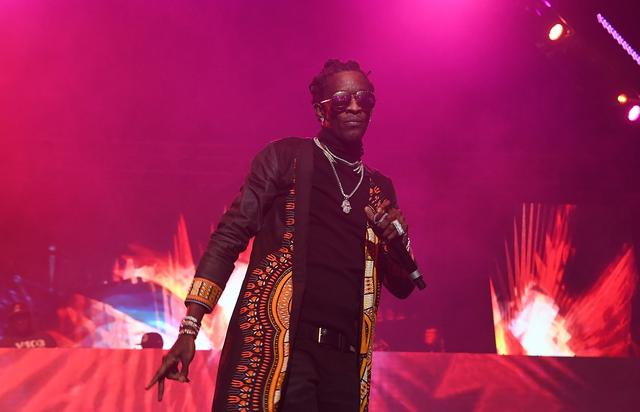 Young Thug at Winterfest 2016