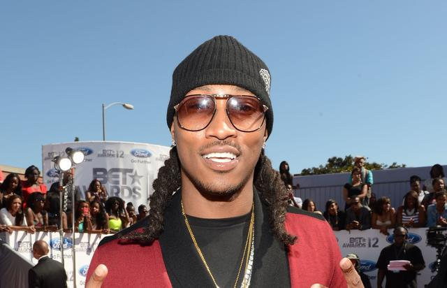 Future on the BET red carpet